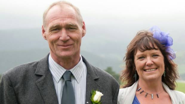 Ged Stephens, pictured with wife Sheila, died shortly before Christmas after a three-month battle with stage four melanoma.