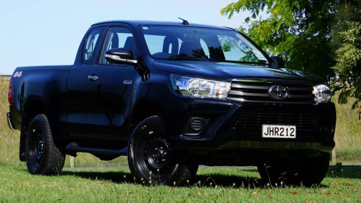 Why the SR extra cab might be the coolest Toyota Hilux you