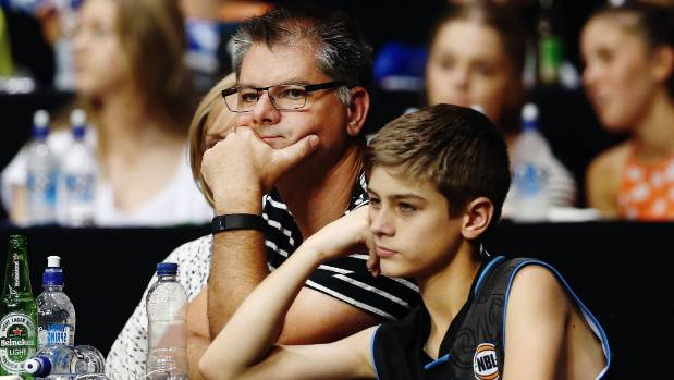Glum Breakers fans reflect on the team's third loss in four games, going down to the Adelaide 36ers.
