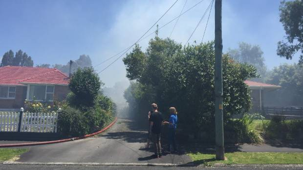 The Fire Service attends a blaze in Frederick Drive, Dinsdale.