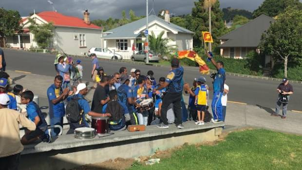 Sri Lankan cricket fan Taine de Alwis said dancing and music-making set an atmosphere that the group, and those around ...