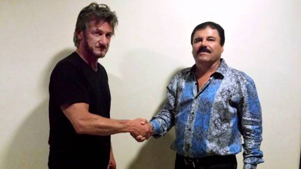 """Mexican authorities say Sean Penn's meeting with Joaquin """"El Chapo'' Guzman unwittingly helped them catch the drug lord."""