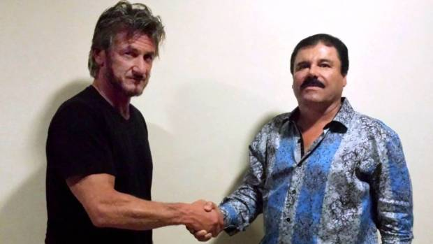 "Mexican authorities say Sean Penn's meeting with Joaquin ""El Chapo'' Guzman unwittingly helped them catch the drug lord."