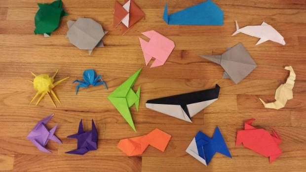 Forget felt-tips: 2016 is the year of the fold. Colouring in is out; origami is in.