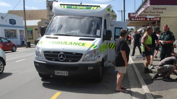 A man is dead after in incident on Thames St in Oamaru.