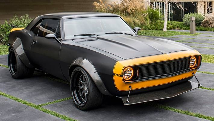 The 1967 Chevrolet Camaro Ss That Starred As Blebee In Age Of Extinction Transformers Movie