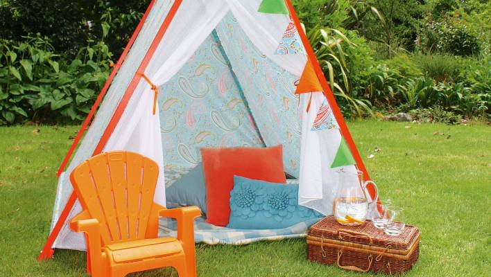 Diy Project Build Your Own Children S Play Tent Stuff Co Nz