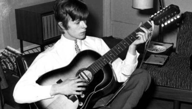 David Bowie in the early years. His career lasted 50 years.