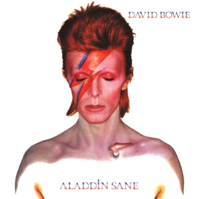 The cover for Aladdin Sane has got to be one of the most imitated of all time.