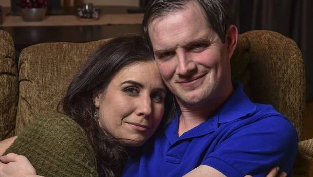 Dave Hamrick, 35, and his wife, Lindsey Nebeker, 34, are both on the autism spectrum.