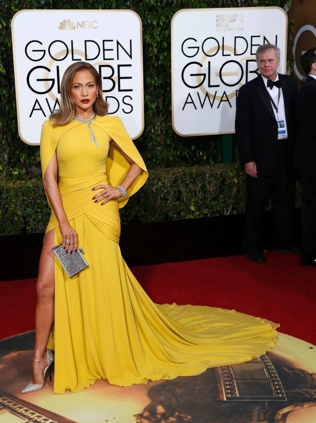 5b3b1c9916e9 BEST: 2016 saw Jennifer Lopez in one of the all-time great yellow gowns
