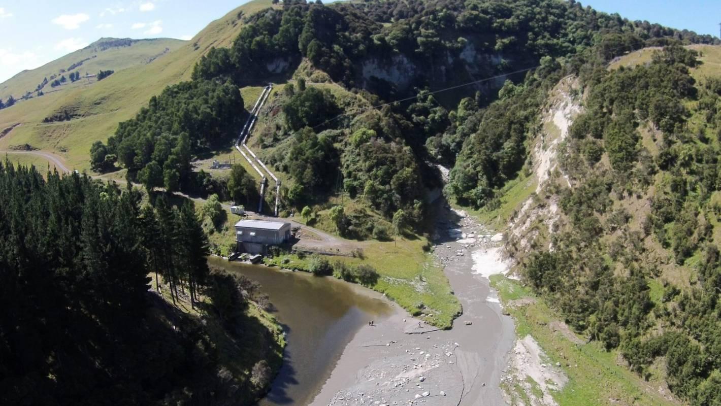 Waihi River Silt Laden After Dam Sluice Gates Wrecked In