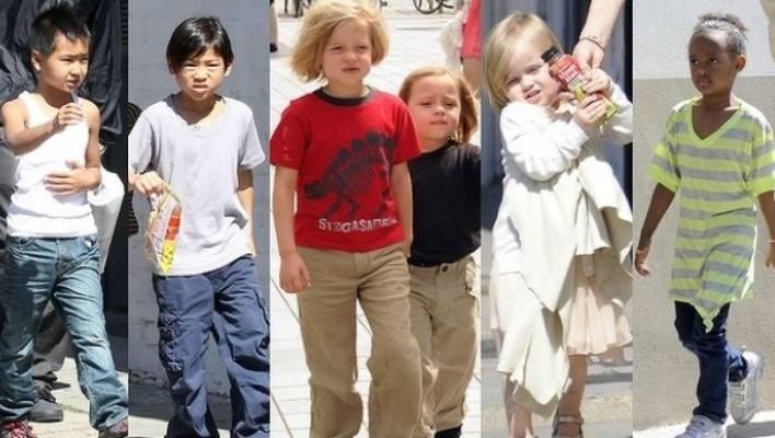 Who are the Jolie-Pitt brood? | Stuff co nz
