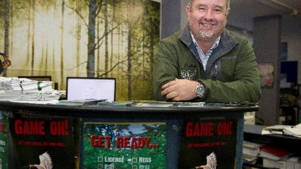 Phil Teal manager of Fish & Game in Palmerston North.