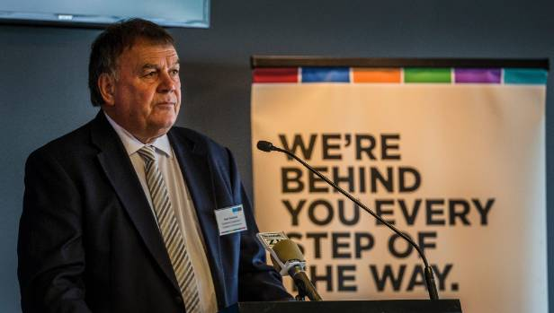 Peter Townsend of the Canterbury Employers' Chamber of Commerce: Christchurch is halfway.