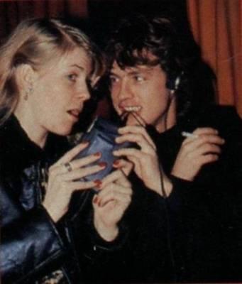 Sharon And Ozzy Osbourne 1980