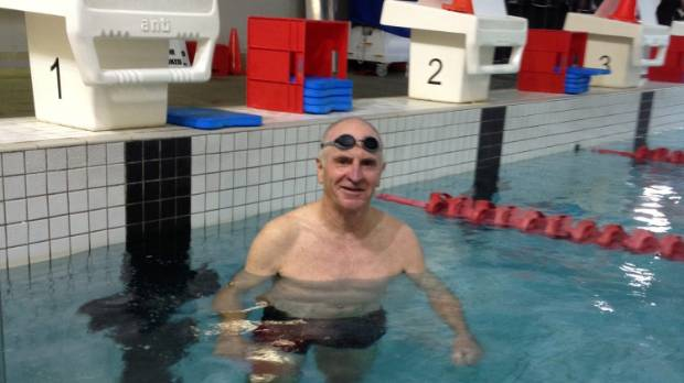 Dale O'Rourke will compete in the Timaru Ocean Swim on Sunday in memory of his father Des who won his first Speechly ...