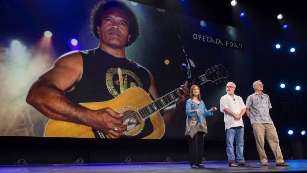 Kiwi-based musician and composer Opetaia Foai is introduced to the world at the Dinsey23 expo in as the soundtrack ...