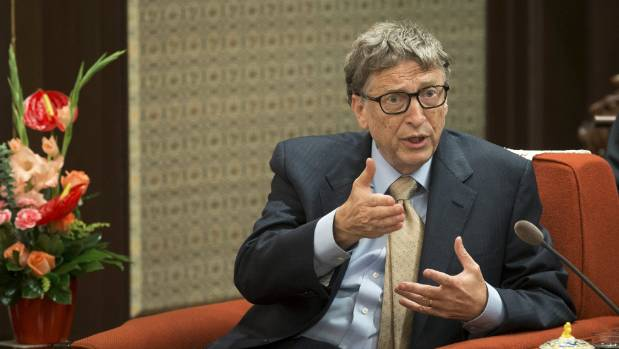 Microsoft co-founder Bill Gates is one of the three richest men in the world, with a combined net worth of US$230 billion.