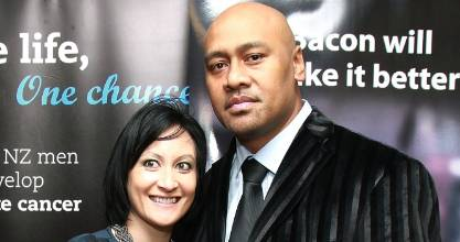 Nadene Lomu says she and Jonah were inseparable.
