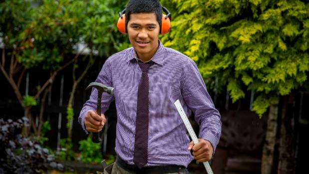 Timaru student Shalom Paiaaua will be the first person in his family to gain a tertiary qualification when he graduates ...