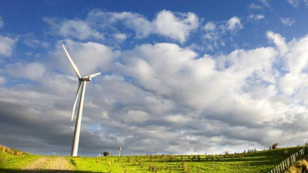 Trustpower's proposal to build a 40-turbine wind farm at Waverley is still being processed.