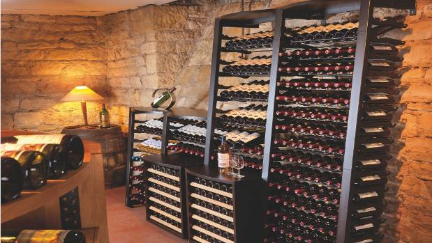 The Modulosteel wine racking system from Eurocave is made in France