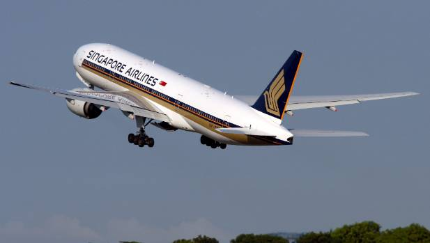 Singapore Airlines  Boeing 777-200 jets are expected to begin landing in Wellington from September.
