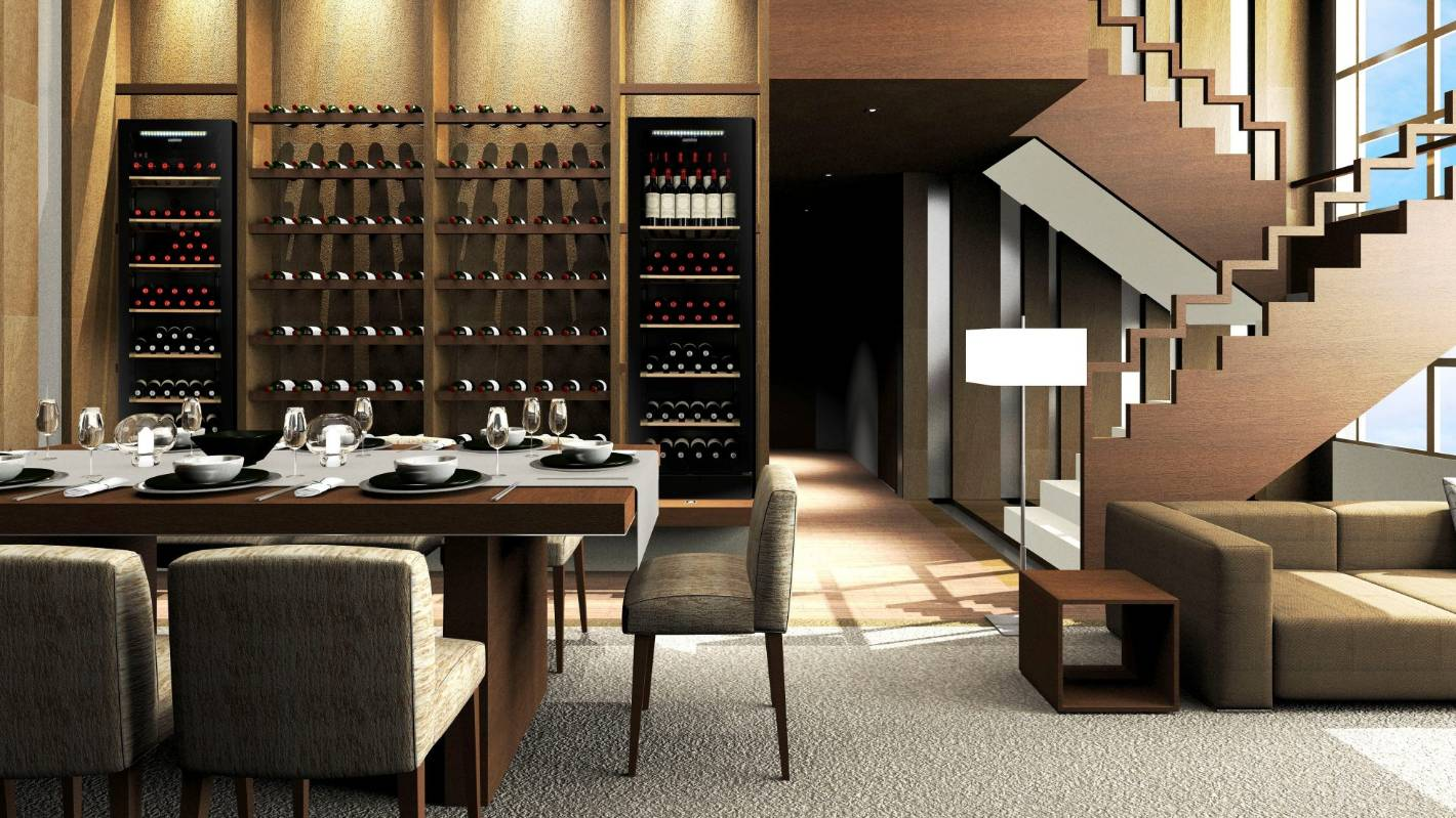 Cellars And Climate Controlled Cabinets Put Wine Storage