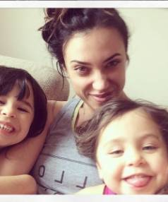 Sophia Nash says she would do anything for her two loves, her daughters Honey, 5, (left) and Lola, 4.