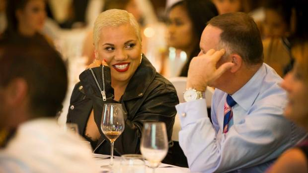 Parris Goebel was the keynote speaker at the Prime Minister's Youth Programme 2016.
