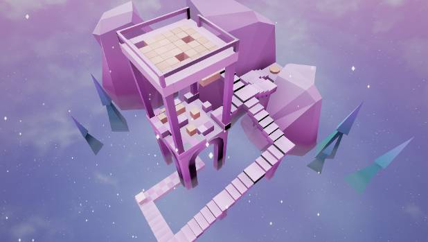 "The ""Split"" game  follows mini-cubes through a fantastical journey of opportunity and challenge."