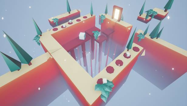 "The game ""Split"" was developed by a team of students at the Auckland Design School."
