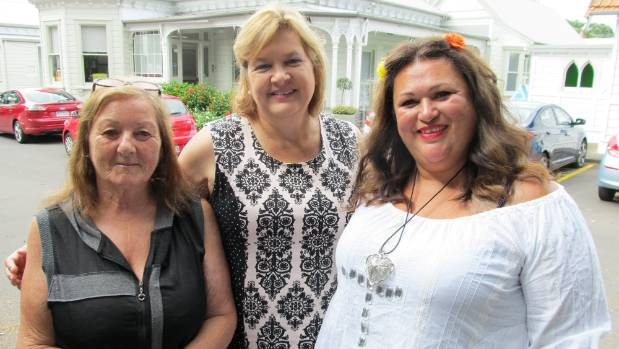 Among the Anglican Trust for Women and Children staff helping stressed mums to be better parents are, from left, Anna ...