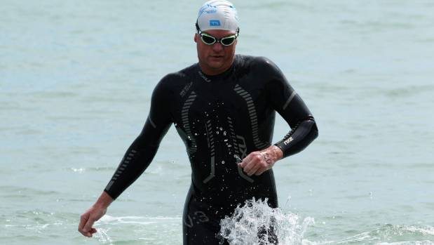 Terry Bone finished fourth in the latest round of the Port Nelson Sea Swim Series.