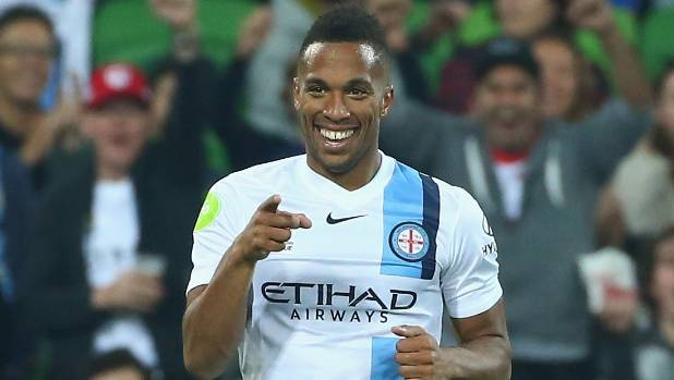 Two goals to Melbourne City striker Harry Novillo helped earned his side a 3-1 win against the Wellington Phoenix on Monday.