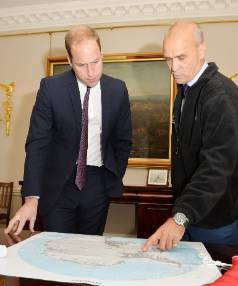 "Prince William says Henry Worsley was ""a man who showed great courage and determination""."