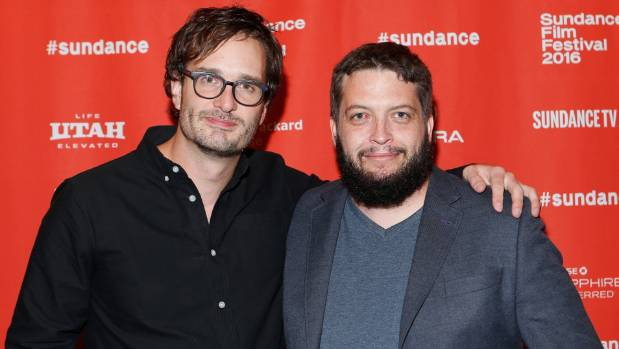David Farrier and director Dylan Reeve at the Sundance Film Festival.