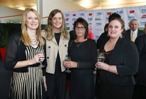 Bronwyn Ward, Morgan Shepherd, Ruth Shepherd and Alicia Smith at Simply Nigella in Invercargill on Tuesday.