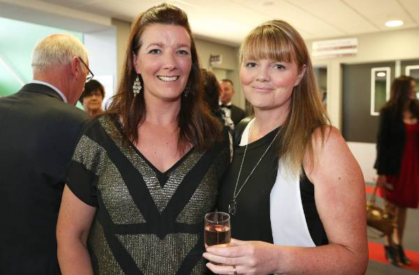 Sisters Bindi and Jo Sharp, both of Invercargill, at Simply Nigella in Invercargill on Tuesday.