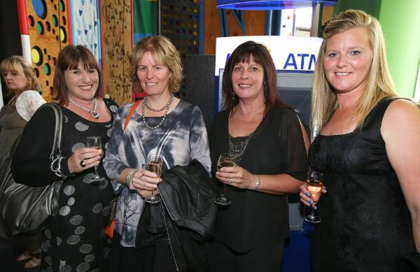Monique Shirley, Catherine Brown, Sue Watt and Renee Morgan, at Simply Nigella in Invercargill on Tuesday.
