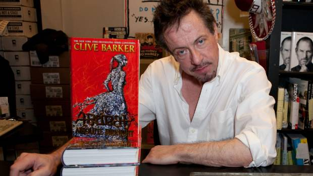 clive barker height