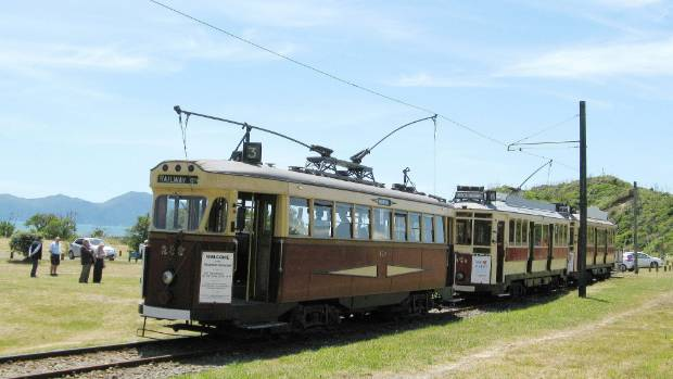 Paekakariki 39 s wellington tramway museum broken into trams for How much does a hillside tram cost