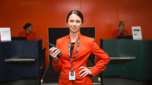 Jetstar customer service rep Ashleigh Koch is gearing up for the maiden flight from New Plymouth on Monday, February 1.