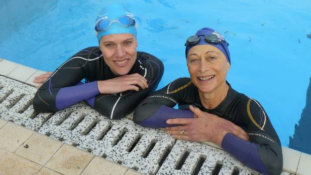 Palmerston north 39 s celia short and daughter fiona ready for capital classic for Palmerston north swimming pool