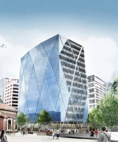 Deloitte and IAG have leased floors in the new office building in Customhouse Quay.