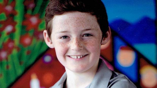 St Thomas's School student Angus McRae, 10, is looking forward to the school year.
