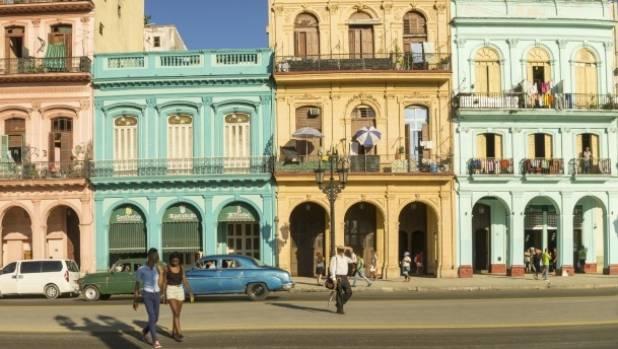 The Paseo Marti in Havana, Cuba.