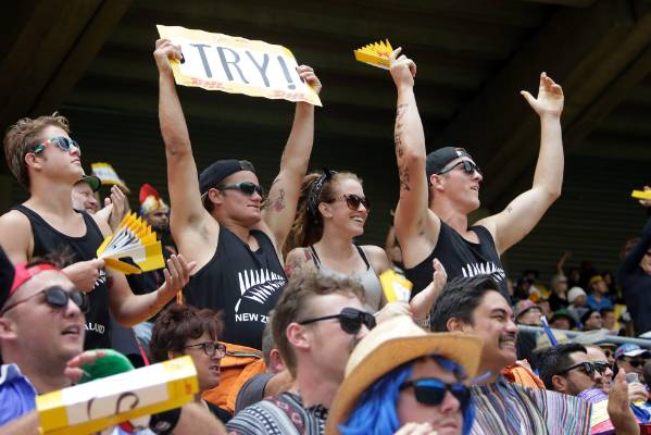 New Zealand off to a winning start at the 2016 Wellington Sevens.