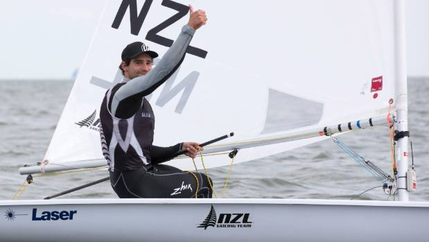 Sam Meech came from behind to snatch bronze in the Laser class in Miami.